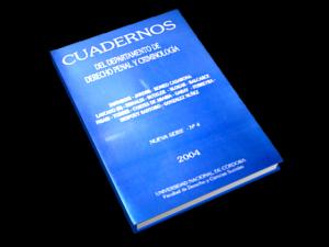 Cuadernos del Departamento de Derecho Penal